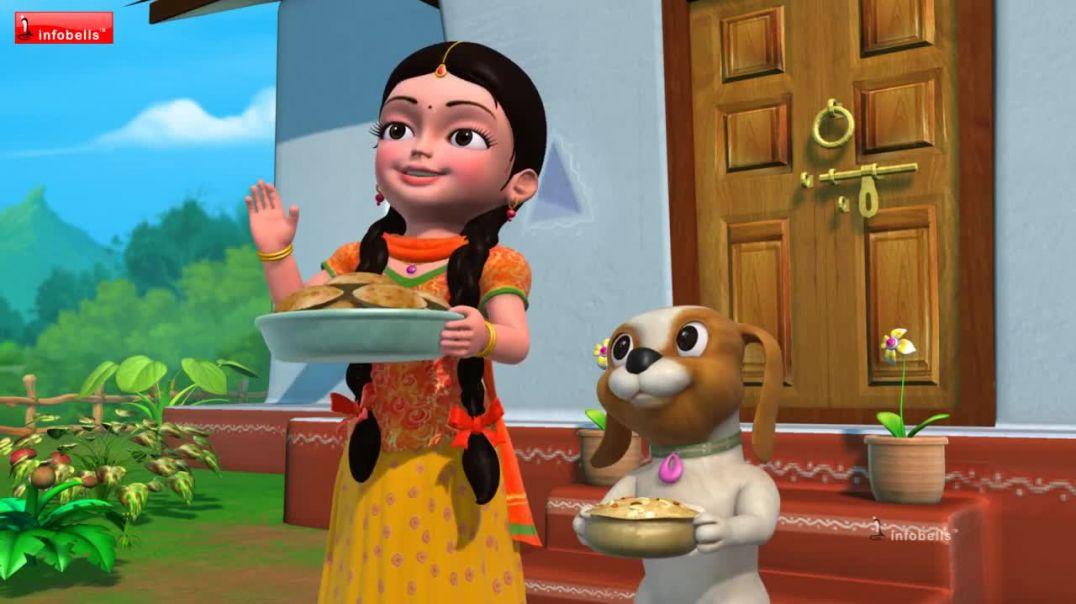 Elephant Rhyme Hathi Raja _ Bengali Nursery Rhymes for Children _ Infobells(720P_HD)