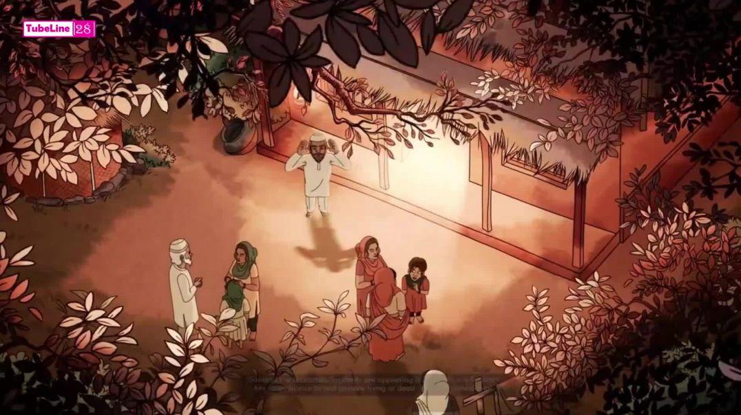 বঙ্গবন্ধু শেখ মুজিবুর রহমানের এনিমেটেড ছবি _ Animated Movie of Bangabandhu Sheikh Mujibur Rahman