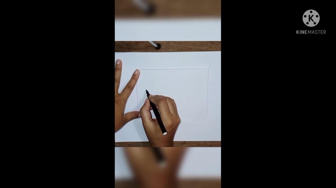 6 easy drawing for kids/আঁকাআঁকি