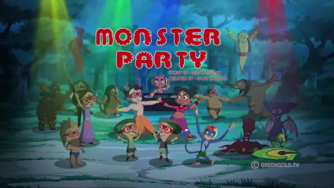 ছোটা ভীম |||Chhota Bheem - Monster Party in Bangla(720P_HD)