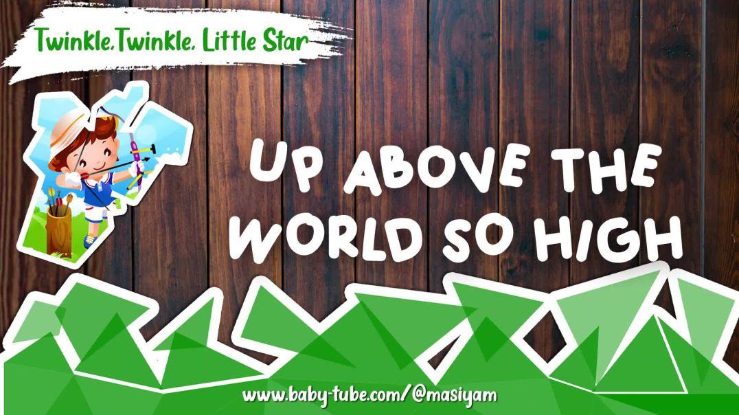 Twinkle Twinkle Little Star | English Poem | @masiyam