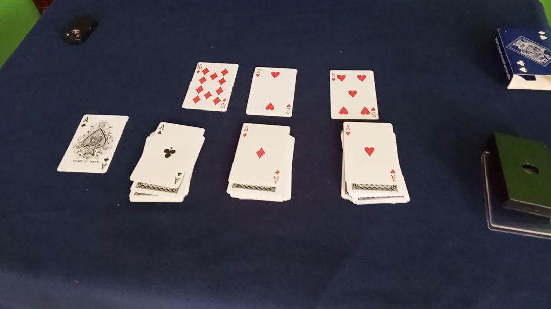 Easy 4 A Card magic Tricks